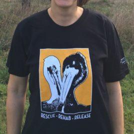 Pelican Heart T-Shirt – Black