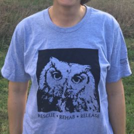 Odin the Owl T-Shirt – Grey